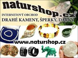 Naturshop.cz -  internetový obchod náramky, dárky, drahé kameny